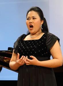 Keunghea Kang bjöd på ett fint program i finalen